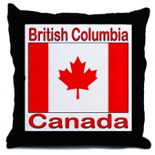 British Columbia & Canada Flag