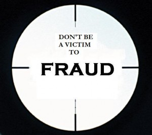 Don't be a victim of Fraud