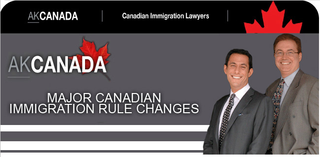 Major Canadian Immigration Rule Changes